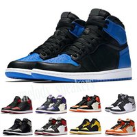 Nike Air Jordan 1 AJ1 Retro Beste Qualität 1 High OG Travis Scotts Cactus Jack Suede Dunkles Mocha TS SP 3M-Basketball-Schuhe Männer Frauen 1s Low Travis Scotts Turnschuhe m03