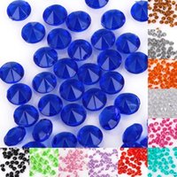 100pcs / set 4.5 mm Wedding Creats Diamond Confetti Table Scatters Clear Crystal Events Party Festitive Insuments SS16 4.0~4.5 MM