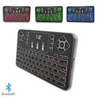 Kabellose Bluetooth Flying Mouse-Tastatur Q9 Mini-Multitouch-Smart-Bluetooth-Tastatur mit dreifarbiger Tastatur für Notebooks, Laptops, Macs, Desktop-PCs und Fernseher