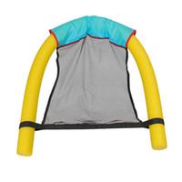 2 em 1 Piscina assentos flutuantes Atenha-forte Toyers surpreendente Bed Noodle cadeiras Net Swims Anel Fun cadeira da associação Acessórios 0,25