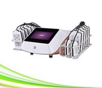 찬 레이저 치료 사러 레이저 슬리밍 새로운 14 개 패드 스파 클리닉 650 ㎚ 차가운 레이저 장치 본체
