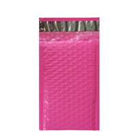 100pcs / 4x7-Inch / 120 * 180mm Poly Bubble Mailer Pink Auto Seal Padded Envelopes