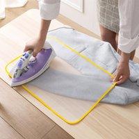 Tableros de planchar 1 unids Resistencia a alta temperatura Scorch Aislamiento de calor Almohadilla de almohadilla Cubierta de tela de malla protectora para el hogar en 2 tamaños