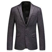 2020 autumn woolen blazers men suits blazer men' s busin...