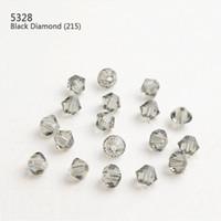 Swaroviski Element 1440pcs / lot 3mm Couleurs Losange Diamant Cristal Perle Perdu Trou De Traversée Lâche Pierre Précieuse Pour Bijoux Et Vêtements