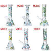 """10"""" новый стакан воды бонг нефтяных вышек стакан воды труб 18.8 mm тавро Раста совместное стекло бонг"""