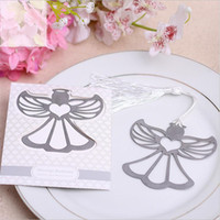 20pcs Party Supplies Angel Bookmark for Baptism Baby Shower Souvenirs Wedding Favors and Gifts for Guest