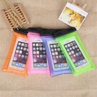 Für Iphone 11 pro max Samsung Galaxy s20 Note 10 Dry Bag Universal Waterproof Tasche hohe freie Kamera Verwenden Sie Soild mit opp Satz