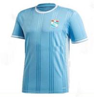Customizadas 20-21 Sporting Cristal azul casa distância Thai Qualidade de Futebol Camisas topos usa esporte Formação Dropshipping aceitado