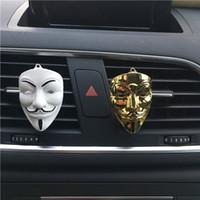 5 arten Vendetta Parfüm Clip Hause Ätherisches Öl Diffusor Für Auto Outlet Medaillon Clips Auto Lufterfrischer Metall V Vent Clip GGA2651