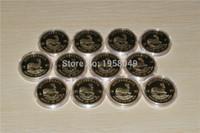 مزيج 10 تاريخ جنوب أفريقيا krugerrand 1 أوقية. 999 24 كيلو الذهب مطلي عملة 10 قطعة / الوحدة مجانية ،