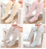 Sommer dünne Kinder-Strümpfe feste Farbe Socken Kind neue Art Baumwolle gelb weiß-Babysocken
