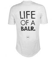 2020 ascensore di un balr maglietta tops balr MenWomen t-shirt 100% cotone abbigliamento camicie Soccer football sportivo palestra BALR marchio