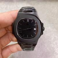 Limited Edition Automatik-Uhrwerk 5711 Mann-Uhr-Saphir-Kristall-Zifferblatt schwarz Male Uhr 316 Stainless Band-freies Verschiffen
