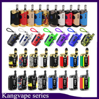 100% originale Kangvape TH-420 II TH710 TH-710 TH420 v scatola Starter Kit VV Battery Box Mod Thick Oil Cartridge Tank Authentic 0268080-2