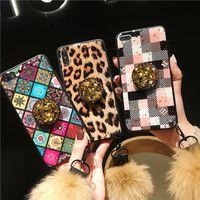 Телефонные чехлы Роскошный блестящий 3D бриллиант браслет для iPhone12 XS 8 плюс iPhone11Pro Max Case Face Ball Matte Cover Case Fashion