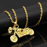 Accesorios para collar de Hip Hop Hombres Joyería Cumpleaños Nocturna Collar de motocicletas Hip Hop Jewelry