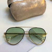 جديد الموضة للنساء النظارات الشمسية 1009 الرجال النظارات الشمسية بسيطة والرجال السخي نظارات الشمس في الهواء الطلق نظارات حماية UV400 مع حالة