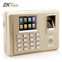 Zkteco TX638 TCP / IP WIFI 125Khz Carte EM d'empreintes digitales Temps de présence d'empreintes digitales horloge de présence des employés Terminal