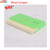 High Quality Soft Wool Squeegee Scraper with plastic handle ...