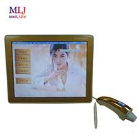 Äkta Digital Facial Skin Moisture Tester Skin Scanner Analyzer Machine med hög kvalitet för salong och hemmabruk
