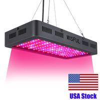 Tam Spektrum 1000 W 1200 W 1500 W Watt Çift Çip LED Büyümek Işıkları Kare Hidroponik Bitki Büyüyen Işıklar için LED Büyümek Işık
