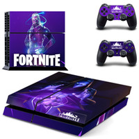 Estilo Fortnite etiqueta para PS4 Pele Decal vinil para Sony Playstation 4 Console e 2 controladores de pele PS4 Sticker