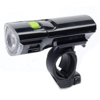 Luces de bicicleta Luz de bicicleta 3W Super brillante Faro de advertencia 3 Modo LED Frente impermeable con soporte de montaje