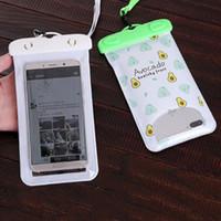 Телефон Водонепроницаемая сумка ПВХ Защитные мобильный телефон сумка для дайвинга Мешочек Виды спорта 5.5inch Универсальный телефон чехол для iphone6 6plus DBC DH1440