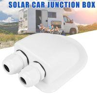 كيبل لوحة للطاقة الشمسية سقف سلك الدخول الغدة صندوق متنقل قافلة قارب مزدوجة هول RV الشمسية السيارات تقاطع مربع لدروبشيبينغ CSV