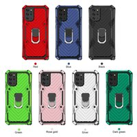 samsung galaxy s20 plus case 2 in 1 PC+TPU anti-fall shock-proof mobile cover with metal bracket 360° finger ring holder galaxy s20 case