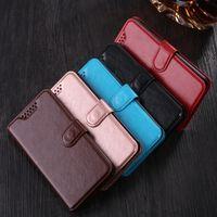 Porte-monnaie en cuir flip Housse Pour ZTE Blade A510 A512 A520 A1 AF3 A6 L3 L4 L5 L7 L110 X5 X7 X9 V6 V8 V9 V7 Lite Phone Case