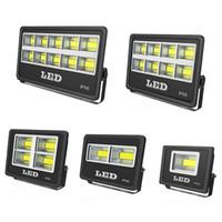 Açık LED Işıklandırmalı Fikstür 600 W 500 W 400 W 300 W IP66 Su Geçirmez Exterieur COB Sel Işık 90 Derece Işın Açı Spot