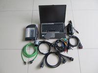 SD Connect C4 Diagnostic Tool MB Star с Wi-Fi + 03.2021 SSD HDD Software + для ноутбука Dell D630 готов к использованию