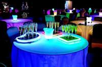 150ML Liquido attivo luce Champagne Glass LED fino vino LED lampeggiante Cup per bar discoteca della decorazione del partito rifornimenti 6pcs / lot