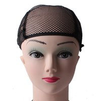 شبكة شعر مستعار المهنية قبعات بيلا للشعر لصنع شعر مستعار مع الأشرطة القابلة للتعديل ويشمل أسود متوسط الحجم