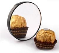 15X Maquiagem Espelho Espinhas poros espelho de aumento com dois copos de sucção de maquiagem Ferramentas espelhos redondos Mão