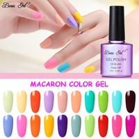 Beau Gel 10 ml Macaron Süßigkeit-Farben-Gel-Nagellack tränken weg von UV-LED-Lampe Polnisch Semi Permanant Emaille Hybrid Lack Lack