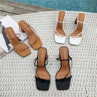 2020 Estate Donna 8 centimetri tacchi alti sandali Classic Block talloni della piattaforma pompe della signora Chunky Fertsh Brown promenade di nozze Sandles Shoes