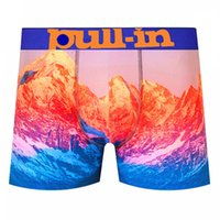 Biancheria intima maschile Pullin Mens Boxer 02 Nuovo stile Traspibile Underpants Underpants Tirare in Designer French Brand Brand Stampa di stampa 3D