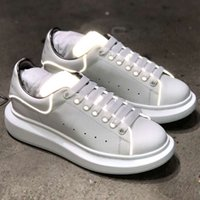 Newest Luxury Casual Athletic Cool Leather Flats Shoes Fashi...