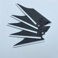 100 pz / lotto Soft Black Fish Shape Raschier Rask Edge Gun Forma Squeegee Car Vinyl Film Finestra Film Strumenti di applicazione Tinta