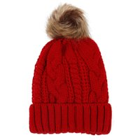 2018 Women' s hats Add velvet Fleece Inside Beanies Wint...