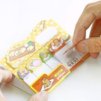 90 PCS Bande Dessinée Japonaise Mini Papier Planner Stickers Kawaii Memo Pad Notes Collantes Scrapbooking Bureau Fournitures Scolaires