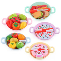 Tableware Baby House Toys Puzzle Simulation Vegetable Fruit ...