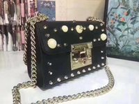 Designer- bags pearl model women designer handbags chain shou...