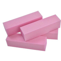 Rasps del piede 4 pz / set Nail Art Pink Tampone carta vetrata 4 modi Polish Levigatura File Buffering Block Manicure Pedicure Strumenti LATR05