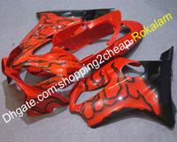 Rote schwarze Verkleidungen für Honda CBR600 F4i 2004 2005 2006 2007 CBR 600 CBRF4I 600F4I CBR600F4I Motorrad ABS-Verkleidungsset (Spritzgießen)