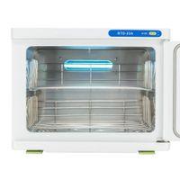 Calefacción 16L Toalla Esterilizador Herramienta cálido Gabinete Spa esterilizador UV facial salón de desinfección secador de toallas en stock EE.UU.