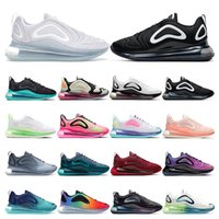 nike air max 720 THROWBACK FUTURE triple negro blanco OG Neon PULL TAB rojo OG Grape para hombre zapatillas deportivas deportivas tamaño 40-46